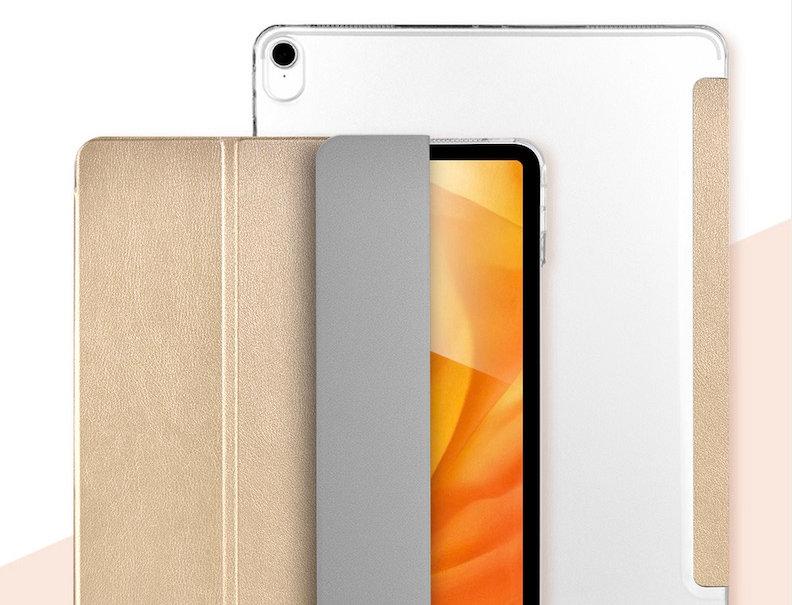 "Devia iPad Air 4 10.9"" Light Grace Case, Champagne Gold"