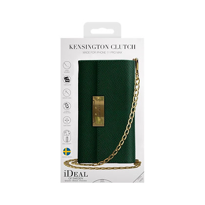 iDeal Of Sweden Kensington Crossbody Clutch iPhone 11 Pro Max, Green
