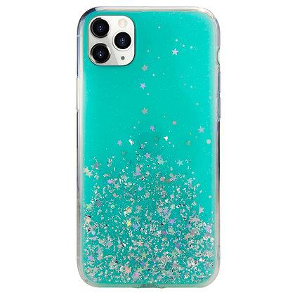 SwitchEasy iPhone 11 Pro Max Starfield PC+TPU Case, Transparent Blue