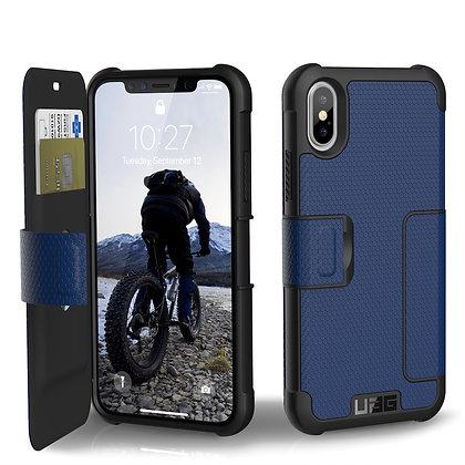 UAG iPhone X Metropolis Case, Cobalt/Silver (Blue)