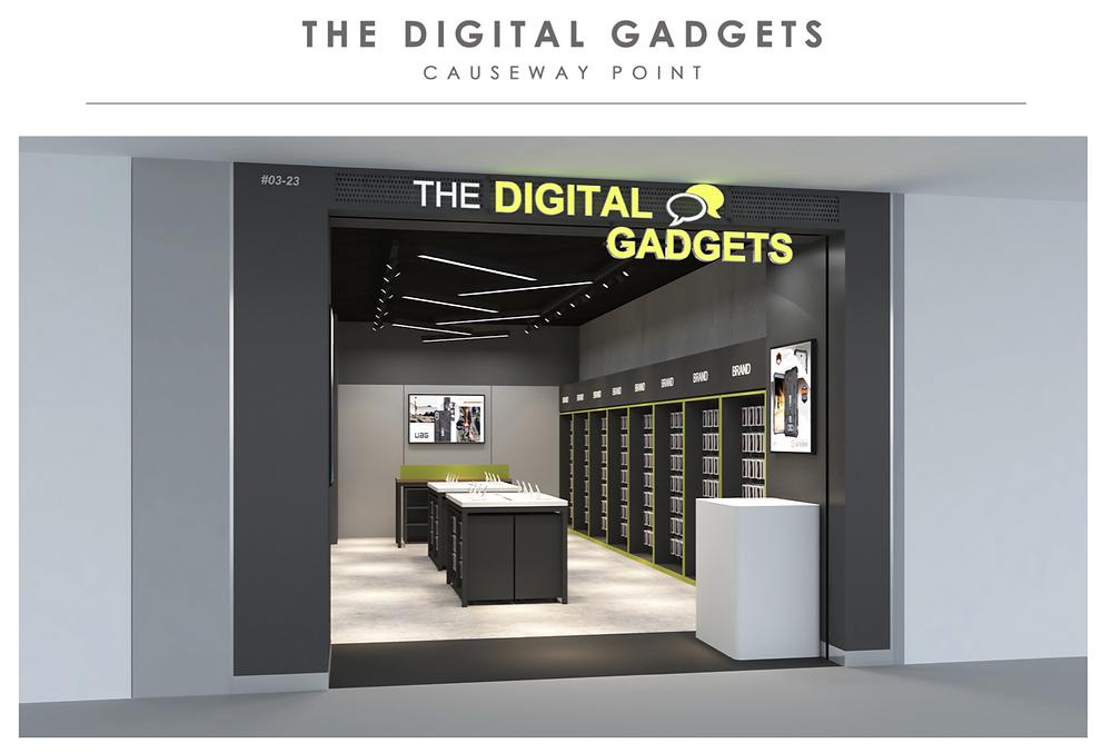 The Digital Gadgets | Causeway Point 3D entrance
