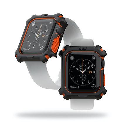 UAG Apple Watch Series 6/SE/5/4 (44mm) Case, Black/Orange