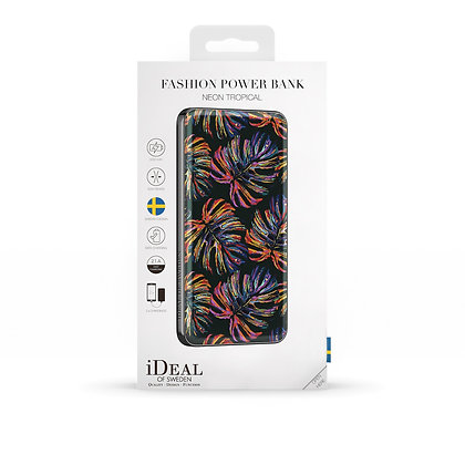 iDeal Of Sweden Fashion Power Bank Li-Polymer, Neon Tropical