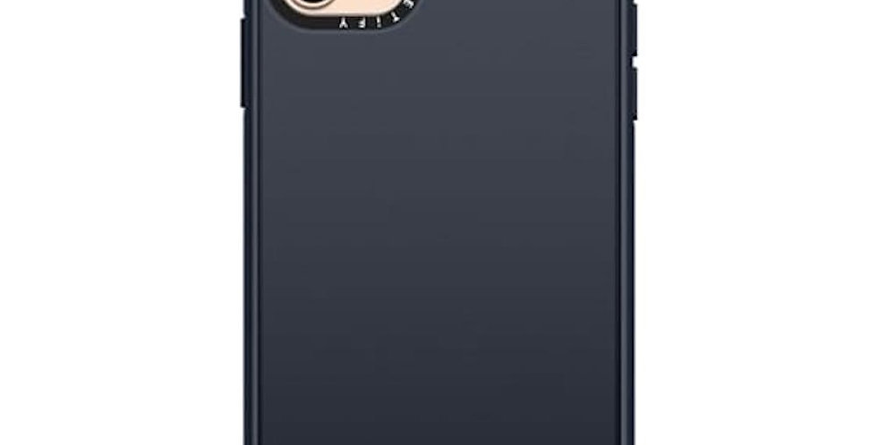 Casetify iPhone 11 Pro Max Impact Case, Solid Black