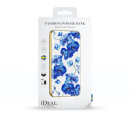 iDeal Of Sweden Fashion Power Bank Li-Polymer, Baby Blue Orchid