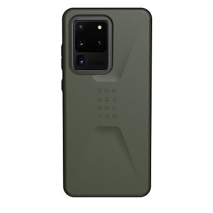 "UAG Samsung Galaxy S20 Ultra 5G 6.9"" Civilian Case, Olive Drab"