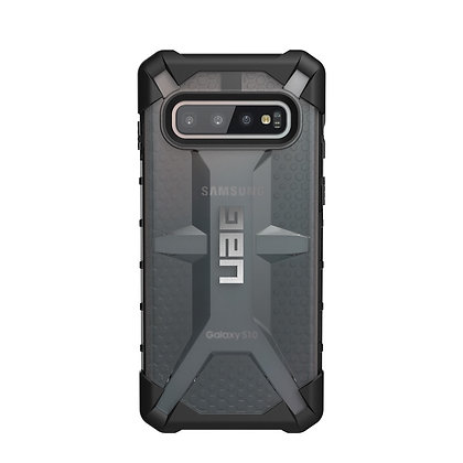 UAG Samsung Galaxy S10 Plasma Case, Ash (Grey Transparent)
