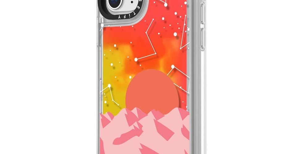 Casetify iPhone 11 Pro Max Neon Sand Case, Palm Springs Sunset