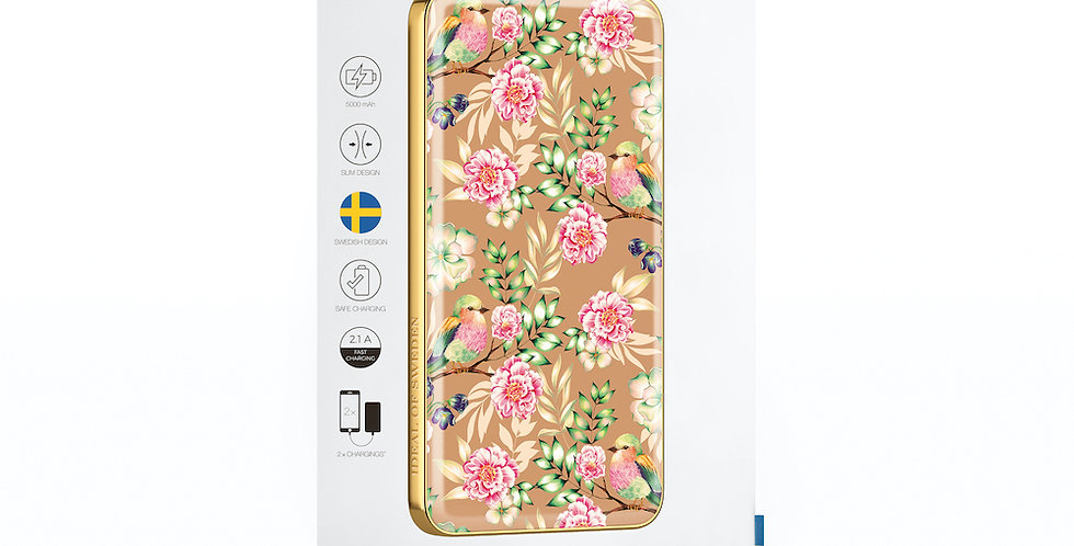 iDeal Of Sweden Fashion Power Bank Li-Polymer, Champagne Birds