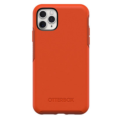 OtterBox Symmetry Series iPhone 11 Pro Max, Risk Tiger (Red/Pumpkin)