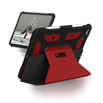 "UAG iPad Pro 11"" (2020) Metropolis Case, Magma (Red)"