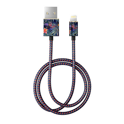 iDeal Of Sweden Fashion Lightning Cable, 2M Mysterious Jungle