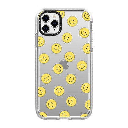 Casetify Impact Case iPhone 11 Pro Max, Frost Happy Town