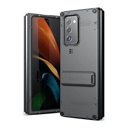 VRS DesignSamsung Galaxy Z Fold 2Damda QuickStand Case,Metal Black