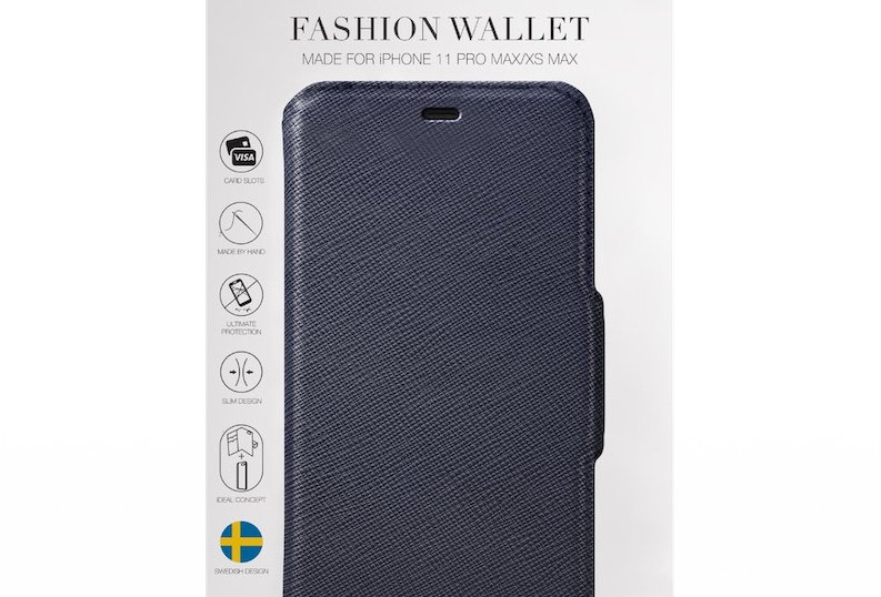 iDeal Of Sweden 11 Pro Max Fashion Wallet Capri & Como, Black