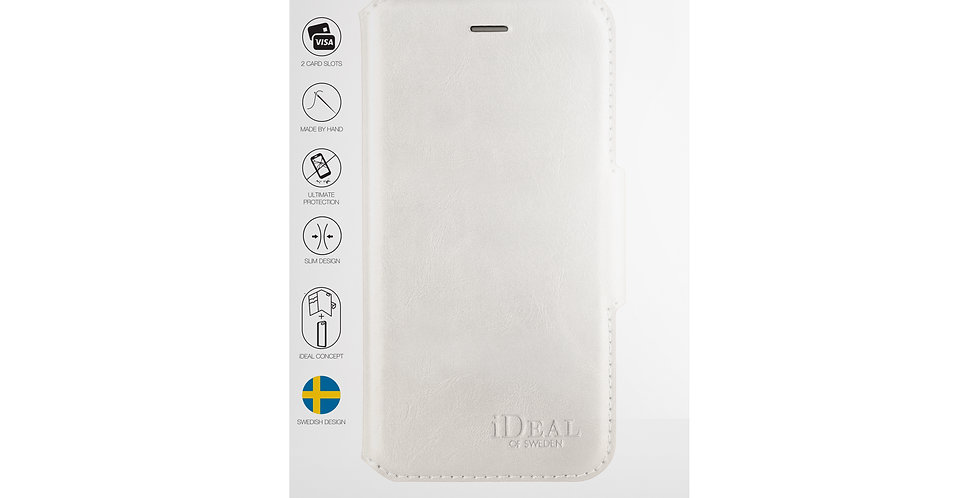 iDeal Of Sweden 8/7/6/6s Plus London Wallet Case, White