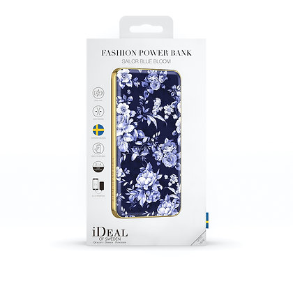 iDeal Of Sweden Fashion Power Bank Li-Polymer, Sailor Blue Bloom