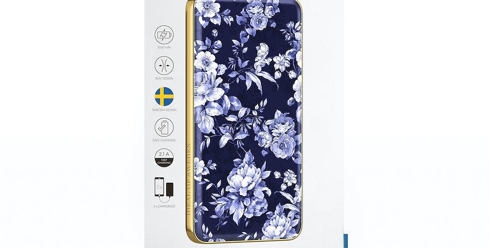 iDeal Of Sweden Fashion Power Bank Li-Polymer, Sailor Blue Bloom