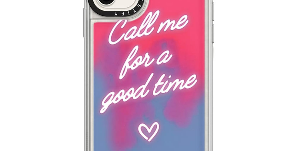 Casetify Neon Sand Case iPhone 11, The Booty Call Naked