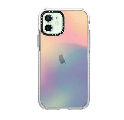 "Casetify iPhone 12 / iPhone 12 Pro 6.1"" Impact Case, Sheer-Iridescent"