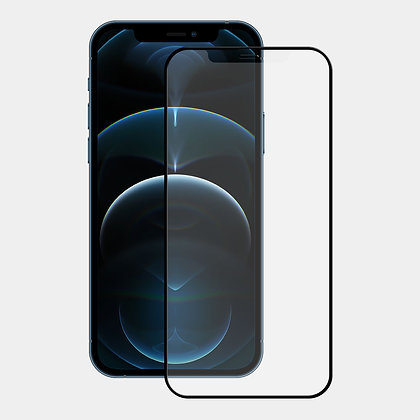 "Ugly Rubber iPhone 12 & 12 Pro 6.1"" Tempered Glass, Matte"