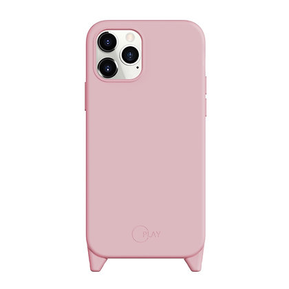 "SwitchEasy iPhone 12/Pro 6.1"" Play Liquid Silicone Rubber Case, Baby Pink"
