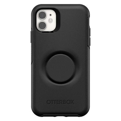 OtterBox Symmetry Series Otter + Pop iPhone 11, Black