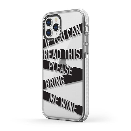 Casetify Impact Case iPhone 11 Pro, If You Can Read This Please Bring Me Wi
