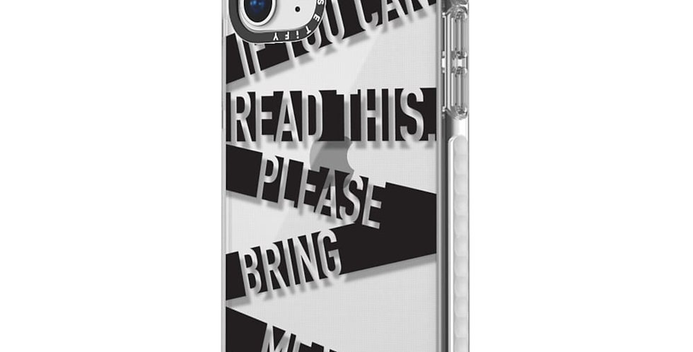 Casetify iPhone 11 Pro Impact Case, If You Can Read This Please Bring Me Wi