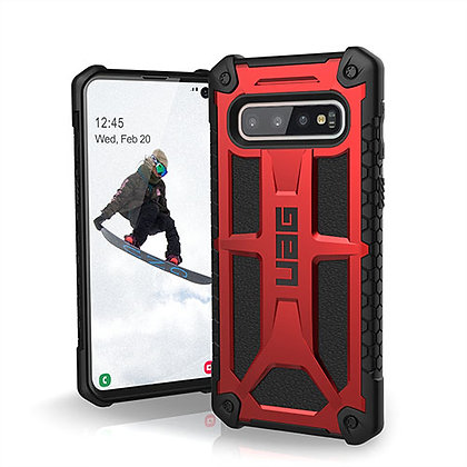 UAG Samsung Galaxy S10 Monarch Case, Crimson