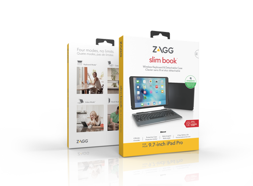 New Product Announcement - ZAGG slim book for 9.7-inch iPad.