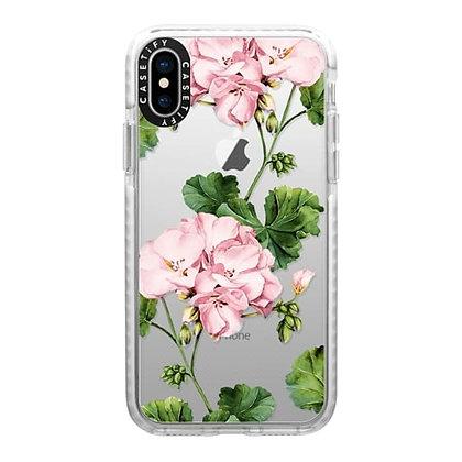 Casetify Impact Case iPhone X/Xs, Frost Geranium