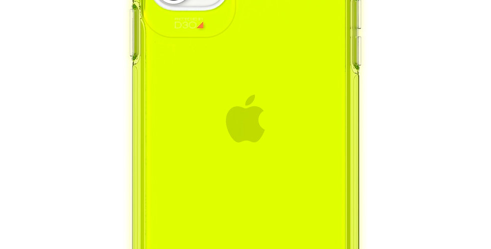 Gear4 iPhone 11 Crystal Palace, Neon Yellow
