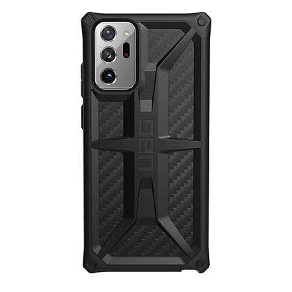 "UAG Samsung Galaxy S20 Ultra 5G 6.9"" Monarch Case, Carbon Fiber"