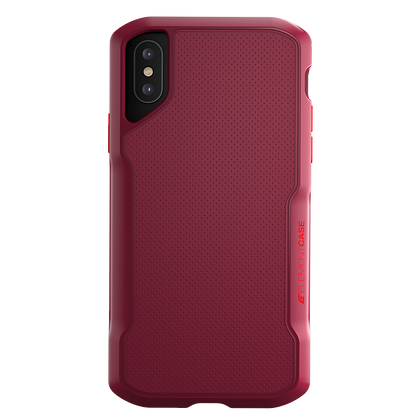 """Element Case iPhone Xs Max 6.5"""" Shadow, Red"""