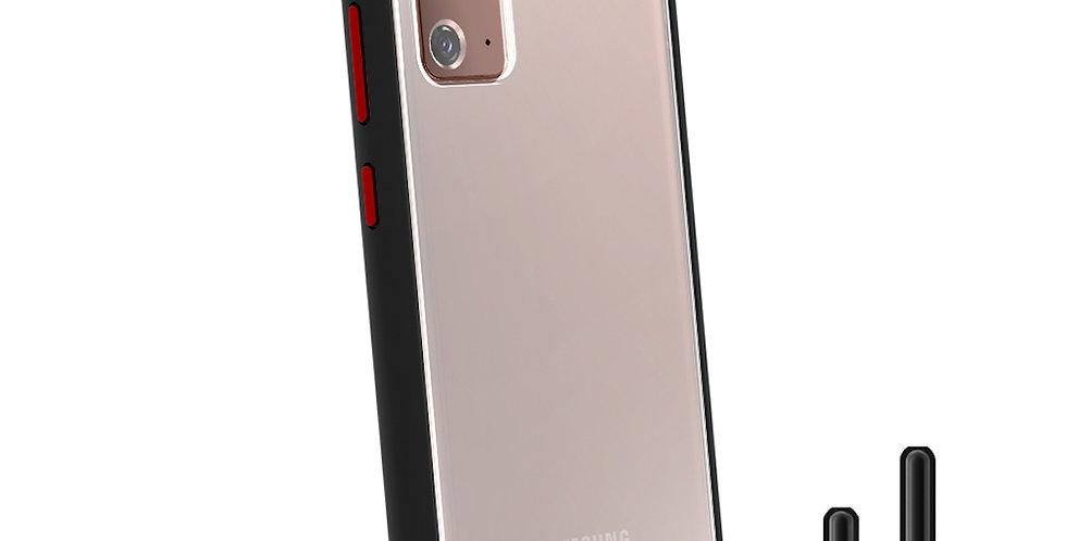 Hoda Galaxy Note20 5G Military Standard Case, Black