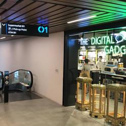 The Digital Gadgets SingPost Center Open 10am to 10pm Tel: 6980 0430 #01-116 (beside Travelator)