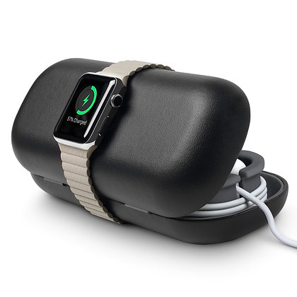Twelve South TimePorter (black) travel stand and case for Apple Watch