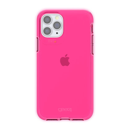 Gear4 Crystal Palace iPhone 11 Pro Case, Neon Pink