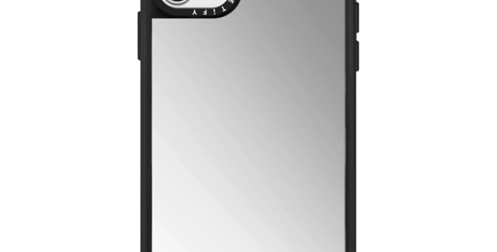Casetify iPhone 11 Pro Mirror Case, Silver