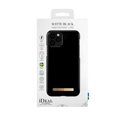 iDeal Of Sweden Matte Black iPhone 11 Pro Case