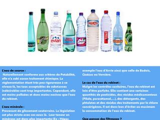 Quelle eau choisir?