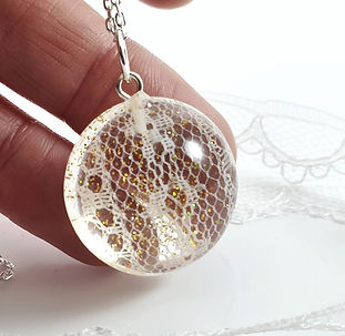 wedding lace keepsake bridal dress neckl