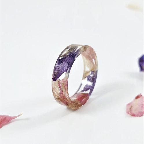 Wedding Flower Keepsake Ring - Bridal Bouquet Memento