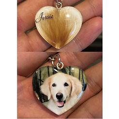 photo hair pet keepsake jewellery