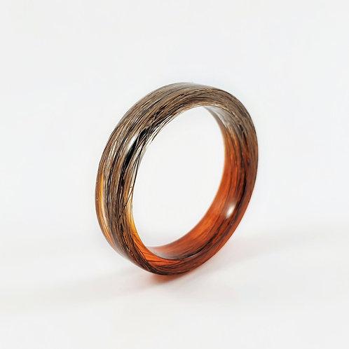 Bespoke Lock of Hair Keepsake Ring