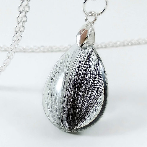 Pet's Fur Keepsake - Teardrop Pendant