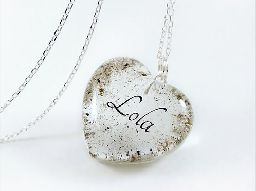 Cremation Ashes Pendant