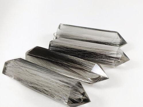 Hair Keepsake Crystal Pendant