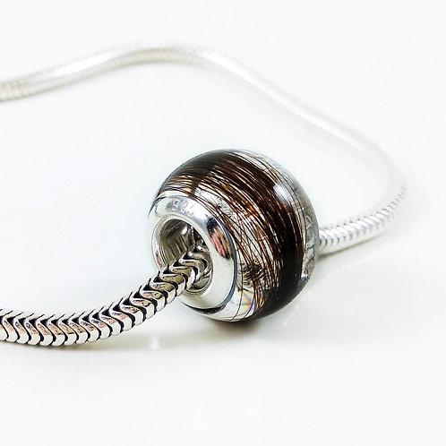 Hair Keepsake - European Style Bead Bracelet